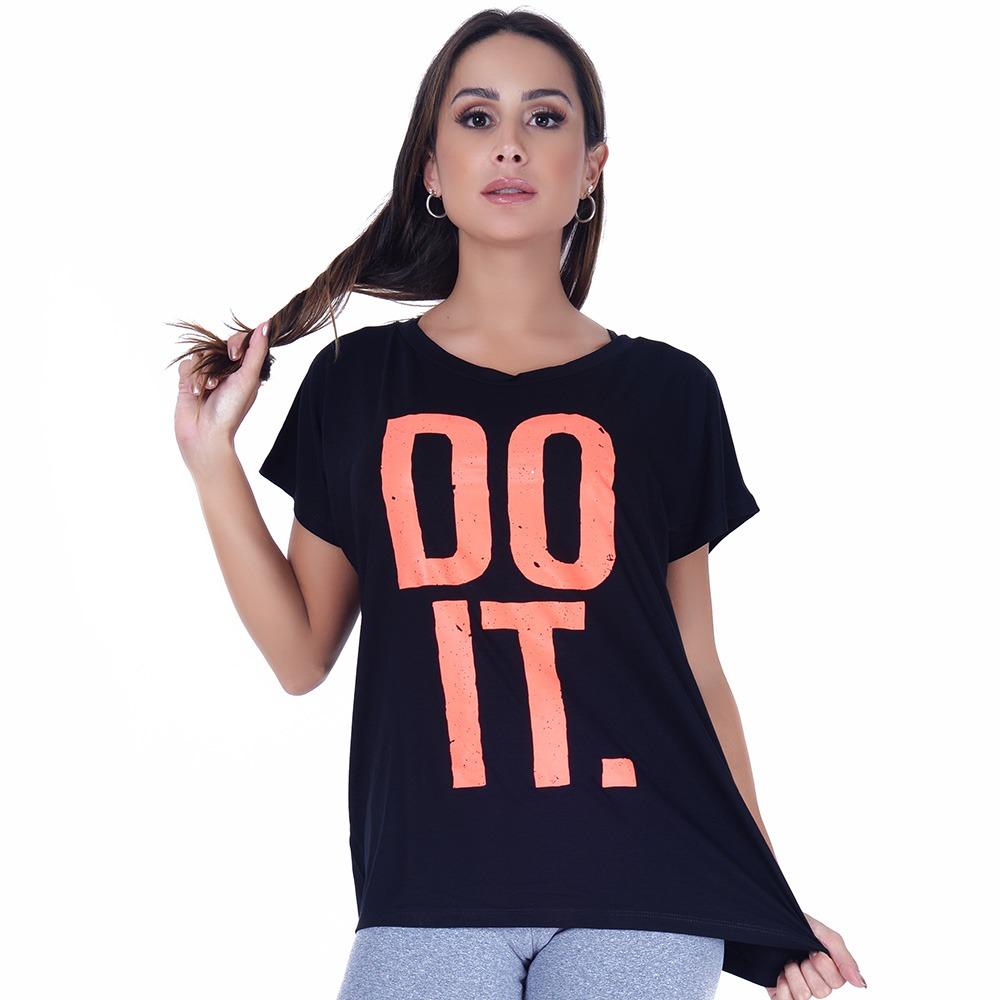 T-shirt Nera Do It