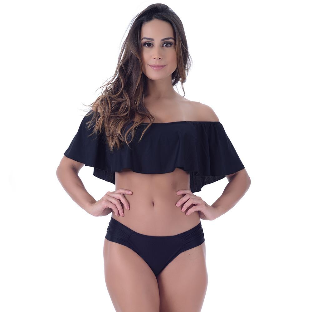 Bikini Top Nero