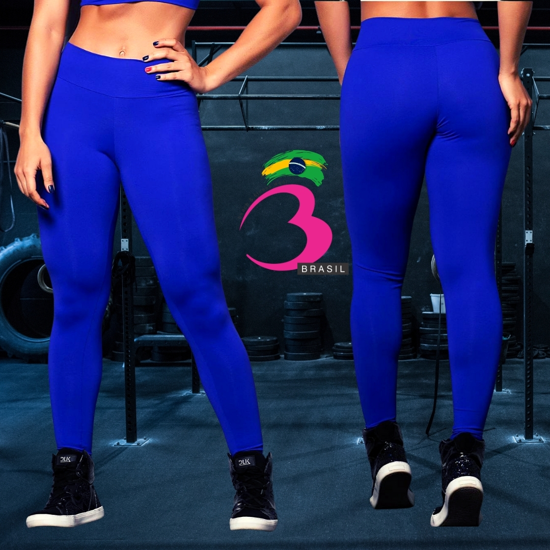 Legging Blue Fit BumBum