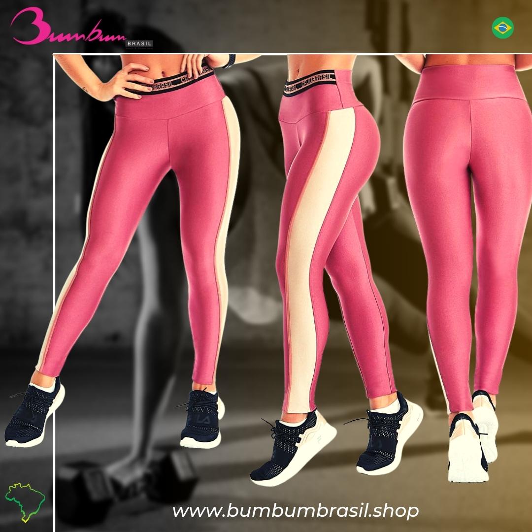 Legging Fit Pink Bum Bum