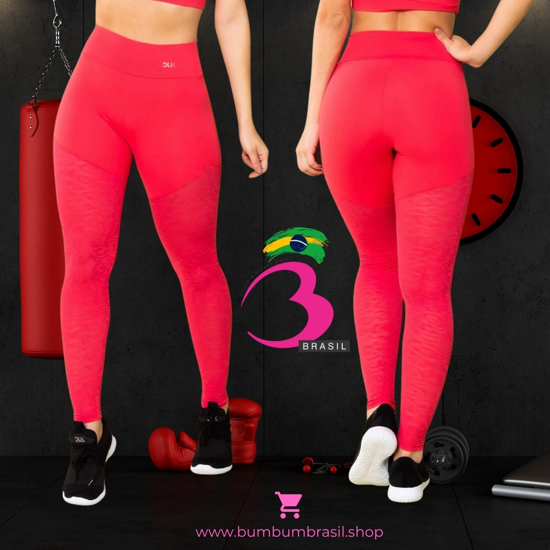 Legging Pink Fit Bum Bum